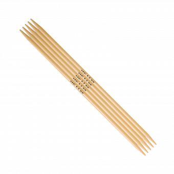 addi Bambus Strumpfstrick-Nadel 20cm | 2,5