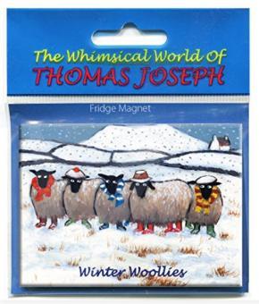 "Kühlschrankmagnet ""Winter Woollies"""